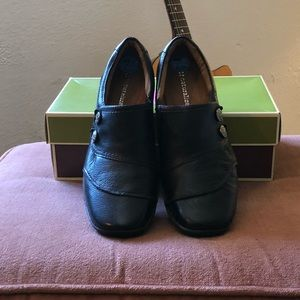 Shoes - Leather slip on shoes